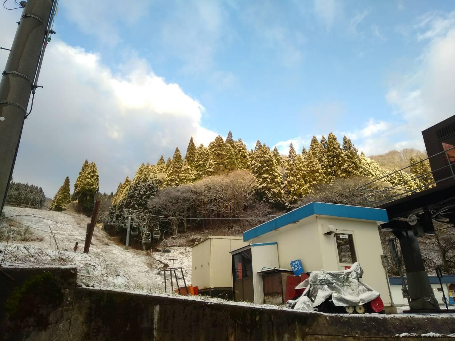 積雪 ハチ 北
